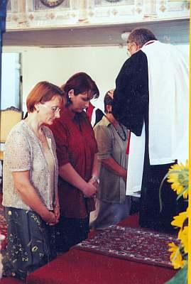 Schuleingang 2002 - Einsegnung der Lehrkräfte