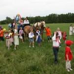Umzug zum Frankenthaler Dorffest