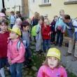 Die vierte Gruppe fuhr nach Spittwitz und war zu Besuch in der Rätze-Mühle.