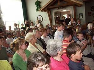 Ein Blick ins Publikum