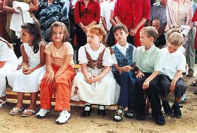 Linda, Anne-Sophie, Barbara, Tom, Michael, Alwin