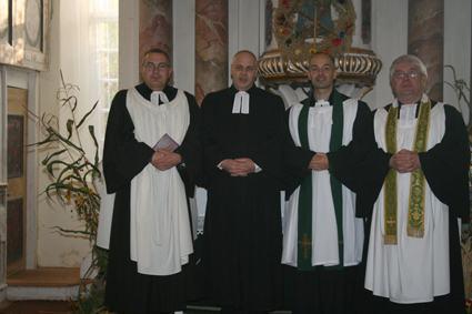 Verabschiedung von Pfarrer Führer