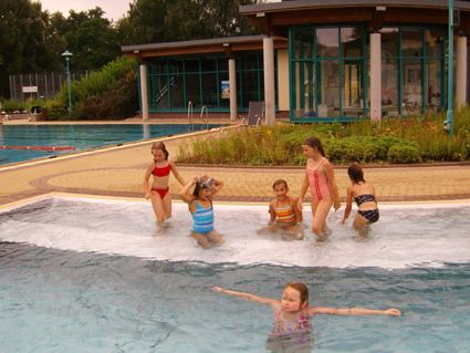 Ein Tag im Schwimmbad Bischofswerda