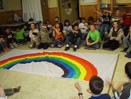 """Projektwoche """"Gottes Farben sind das Leben"""" 2007"""