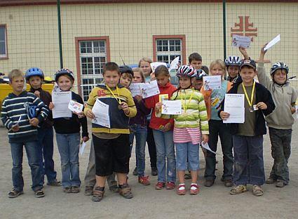 Verkehrsprojekttage Sept.2009 mit Erster Hilfe