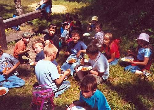 Schuljahresabschlußfest 2004
